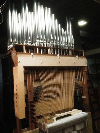 mécanique orgues amazonie